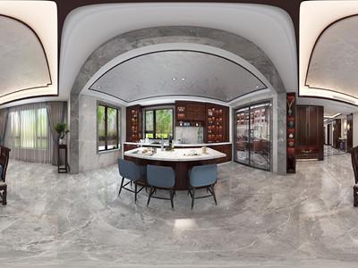 融创臻园260㎡新中式风格装修案例