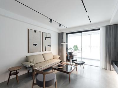 富力新城129㎡新中式风格装修案例