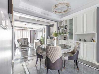 金地平山印190㎡美式轻奢风格装修案例