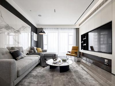富力又一城171㎡现代简约风格装修案例