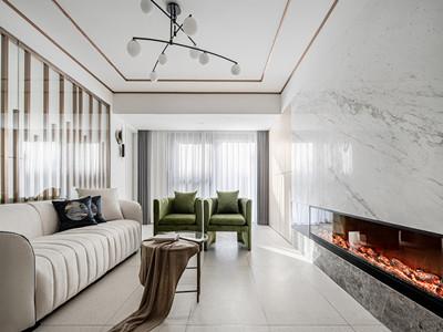 雅仕兰庭137㎡现代简约风格装修案例