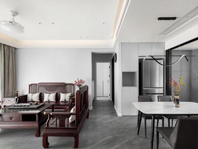 雅仕兰庭137㎡新中式风格装修案例