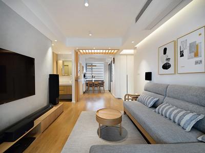 雅仕兰庭89㎡日式风格装修案例