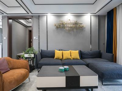 雅仕兰庭154㎡现代简约风格装修案例