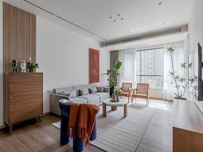理想城127㎡现代简约风格装修案例