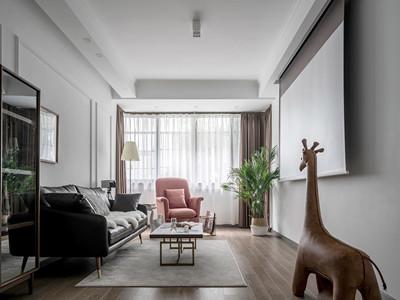 雅仕兰庭116㎡现代简约风格装修案例