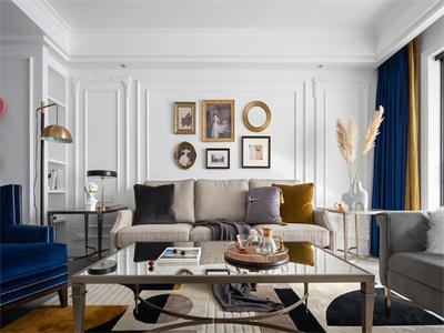 雅仕兰庭116㎡美式风格装修案例